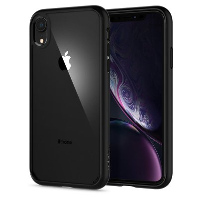 Чехол Spigen для iPhone XS/X Ultra Hybrid Matte Black 063CS25116