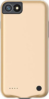 Чехол-аккумулятор Baseus External Battery Charger Case 2500mAh Gold для iPhone 8/7