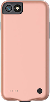 Чехол-аккумулятор Baseus External Battery Charger Case 2500mAh Pink для iPhone 8/7