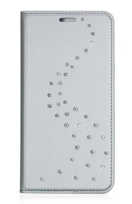 Чехол Bling My Thing Primo Milky Way Silver/Pure Brilliance с кристаллами Swarovski для iPhone X/XS