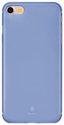 Чехол Baseus Slim Case Transparent для iPhone 8/7 Blue WIAPIPH7-CT03