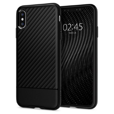 Чехол Spigen для iPhone XS/X Core Armor Black 063CS24941