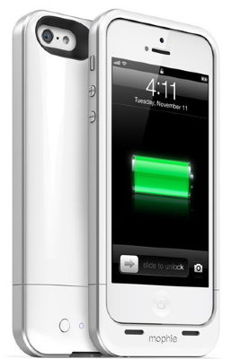 Чехол-аккумулятор Mophie Juice Pack Air White 1700mAh для iPhone 5/5S/SE