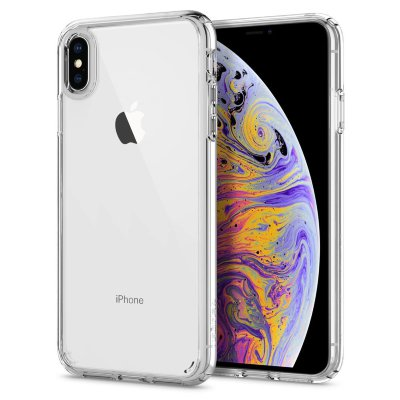 Чехол Spigen для iPhone XS Max Ultra Hybrid Crystal Clear  065CS25127