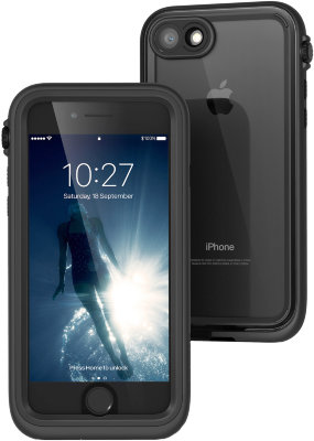 Подводный чехол Catalyst Waterproof Case Stealth Black для iPhone 8/7