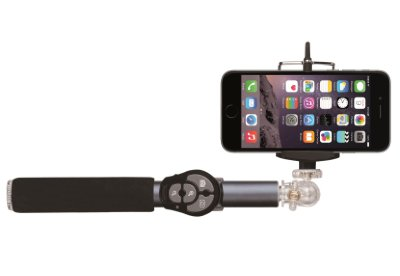 Селфи-монопод Hoox Selfie Stick 810 Series Grey с пристяжным пультом Bluetooth