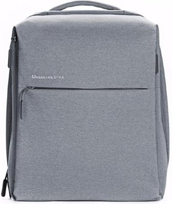 Городской рюкзак Xiaomi Simple Urban LifeStyle Backpack Light Grey