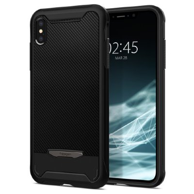 Чехол Spigen для iPhone XS/X Hybrid NX Black 063CS24946