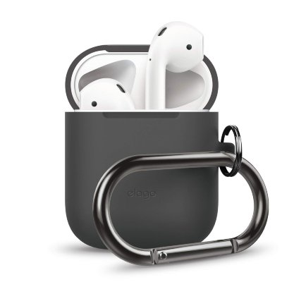 Чехол для AirPods Elago Hang Case Dark Grey