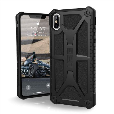 Противоударный чехол Urban Armor Gear Monarch Carbon Fiber для iPhone XS Max