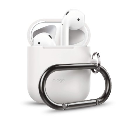 Чехол для AirPods Elago Hang Case White