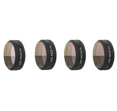 Набор фильтров для DJI MAVIC AIR PGYTECH Filter Set P-UN-015 (G-ND4-PL, ND8-PL, ND16-PL, ND32-PL)