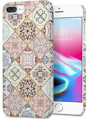 Чехол Spigen для iPhone 8 Plus Thin Fit Arabesque 055CS22622