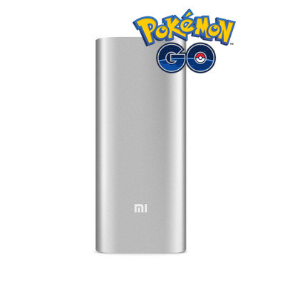 Power Bank для Pokemon Go 16000 mAh Xiaomi Mi Super-sized Silver