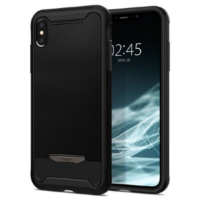Чехол Spigen для iPhone XS Max Hybrid NX Black 065CS24944