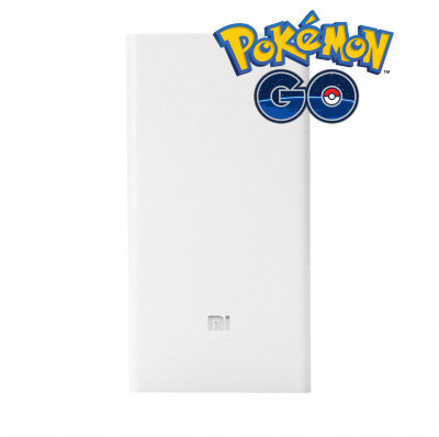 Power Bank для Pokemon Go 20000 mAh Xiaomi Mi White