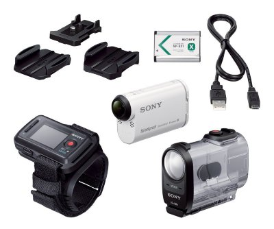 Экшн-камера Sony ActionCam HDR-AS200VR с Wi-Fi и GPS + Пульт ДУ Live-View (RM-LVR2)
