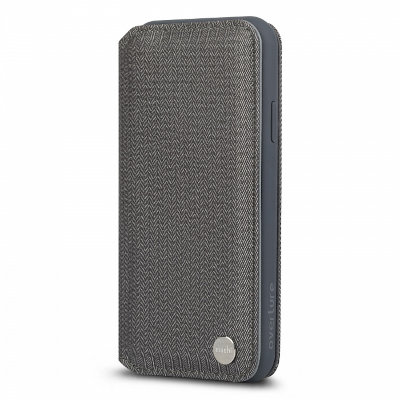 Чехол-бумажник Moshi Overture для Apple iPhone Xs Max Herringbone Gray