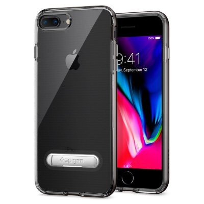 Чехол Spigen для iPhone 8/7 Plus Ultra Hybrid Black 043CS20550
