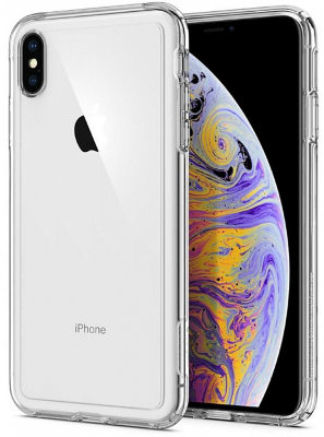 Чехол Spigen для iPhone XS Max Crystal Hybrid Clear 065CS25160