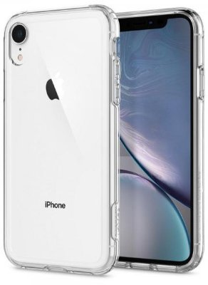 Чехол Spigen для iPhone XR Crystal Hybrid Crystal Clear 064CS25150