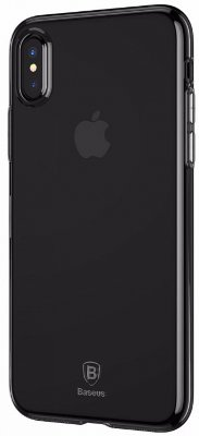 Чехол Baseus Simple Series Case Transparent Black для iPhone X/XS