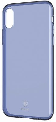 Чехол Baseus Simple Series Case Transparent Blue для iPhone X/XS