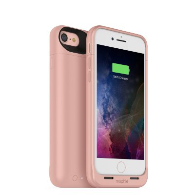 Чехол-аккумулятор Mophie Juice Pack Air 2525 mAh Rose Gold для iPhone 8/7