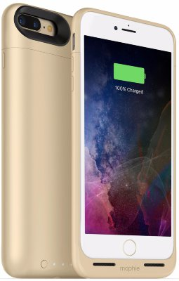 Чехол-аккумулятор Mophie Juice Pack Air 2420 mAh Gold для iPhone 8/7 Plus