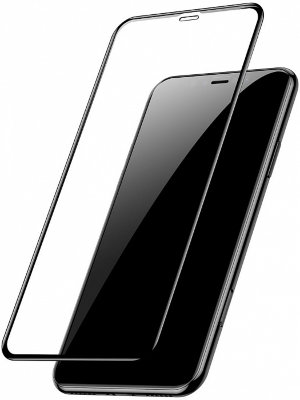 Защитное стекло Baseus Full-glass Tempered 0.3mm Black для iPhone 11
