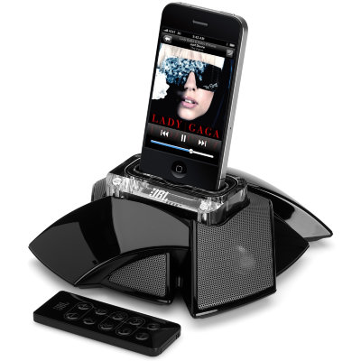Акустическая система JBL On Stage Micro III Black с док-станцией для iPhone и iPod