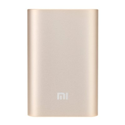 Внешний аккумулятор 10000 mAh Xiaomi Mi Power Bank Portable Charger 10000 Gold