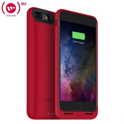 Чехол-аккумулятор Mophie Juice Pack Air 2420 mAh Red для iPhone 8/7 Plus
