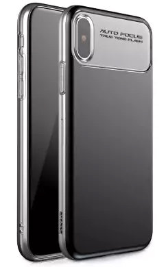 Чехол Baseus Slim Lotus Case Black для iPhone X/XS