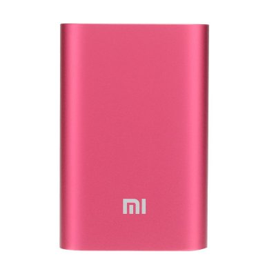 Внешний аккумулятор 10000 mAh Xiaomi Mi Power Bank Portable Charger 10000 Pink