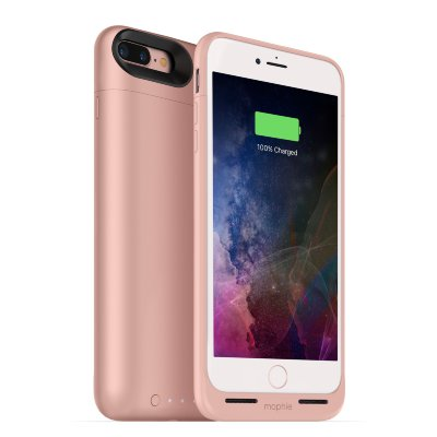 Чехол-аккумулятор Mophie Juice Pack Air 2420 mAh Rose Gold для iPhone 8/7 Plus