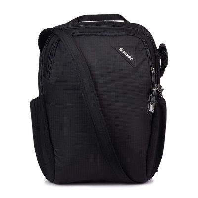 Сумка-антивор Pacsafe Vibe 200 7.5L Anti-Theft Crossbody Bag Jet Black